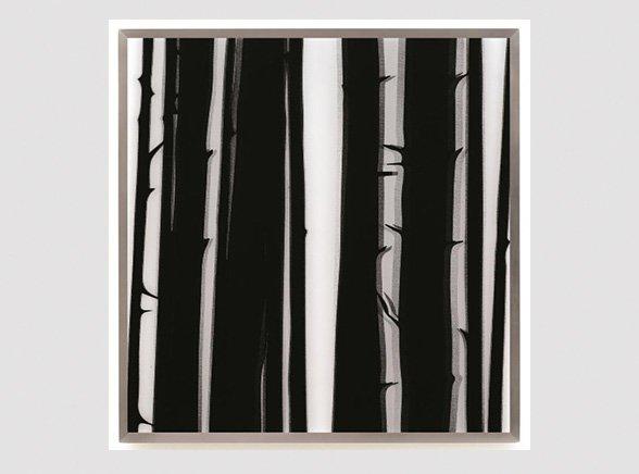 Julian Opie, Forest, Galerie Jeanne, Muenchen