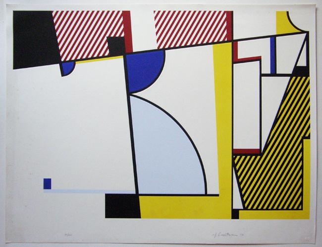 Roy Lichtenstein ' Bull V', Galerie Jeanne, München
